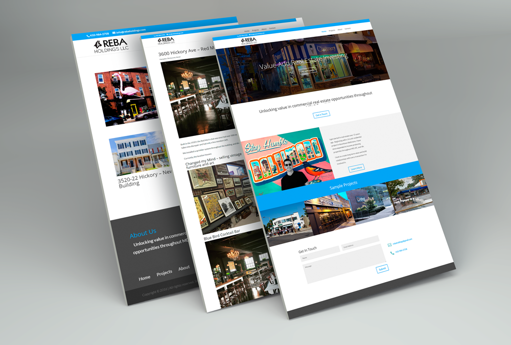 Reba Holdings – Real Estate Portfolio Site