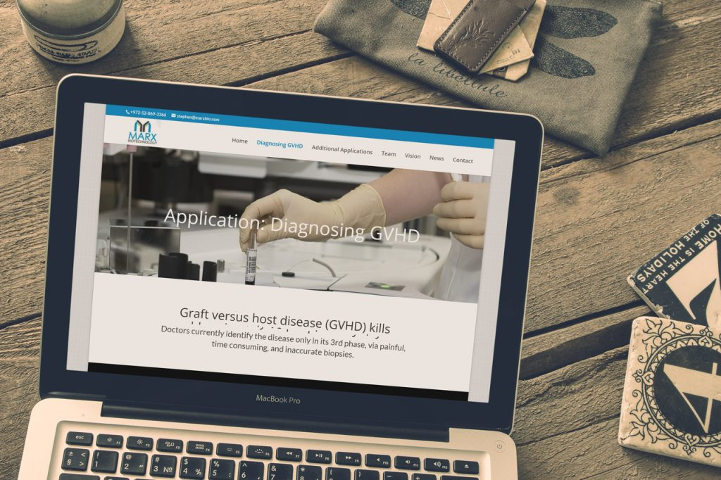 Marxbio.com – Bio startup website